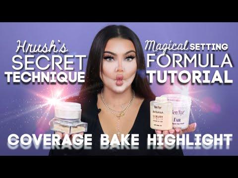 Pro MUA How to Use Setting Powder Tutorial  - Hrush SECRET FORMULA Technique