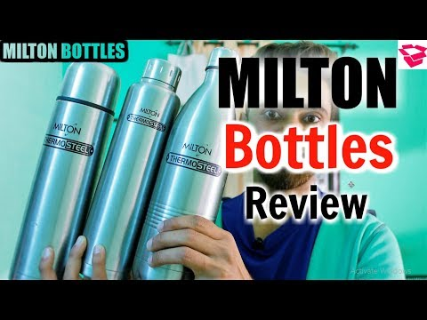 Milton thermosteel bottle review || Price, Material, Quality