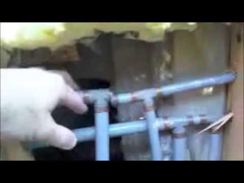 Polybutylene plumbing repair