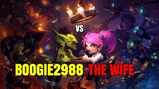 Boogie Vs WIFE: Hearthstone Co-Op tavern brawl