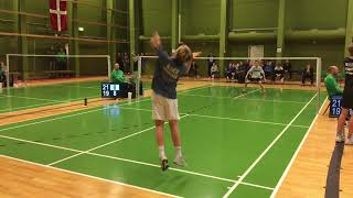 2018 Badminton Danish National Championships U15 HS 1/8-finale