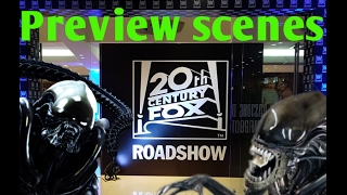 Preview de escenas   Alien Covenant