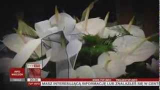 Pogrzeb rodzeństwa, które utonęło w Warcie (TVP Info, 10.08.2013 r.)