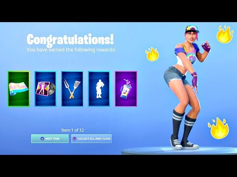 FIRST LOOK At The FREE 14 Days Of Summer REWARDS In Fortnite! (Free Fortnite Items)