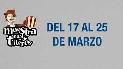 Muestra anual de títeres del 17 al 25 de marzo