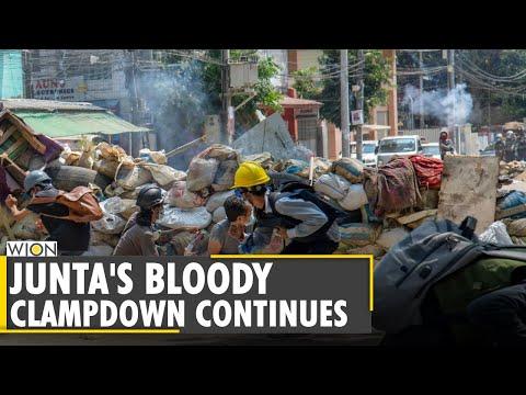 Myanmar Coup: 183 dead in Myanmar military crackdown   World English News  International Update