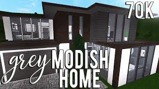 ROBLOX   Welcome to Bloxburg: Grey Modish Home 70k