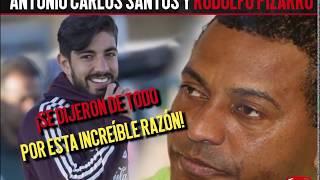 Impactante bronca entre Antonio Carlos Santos y Rodolfo Pizarro