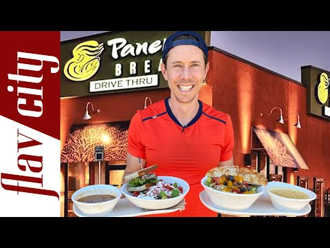 Is Panera Bread Actually Healthy? | With Full Menu Review