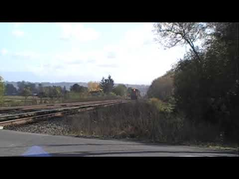 VERY FAST! Locomotives - Great Air Horn Sound!