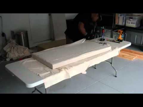 Panel fonoabsorbente casero lana de roca youtube for Lana de roca ignifuga