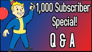 1,000 Subscriber Q&A Diaper Booty Special!
