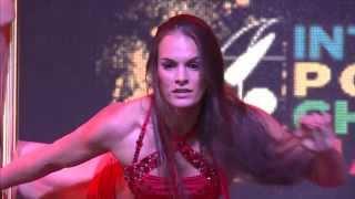 Natalia Meshcheriakova Arnold Classic Pole Dance Bronze Medalist