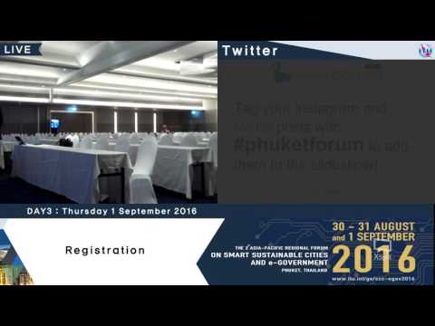 The 2nd Asia-Pacific Regional Forum : On Smart Sustainable Cities and E-government (Day3_part1)