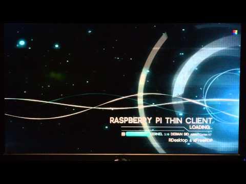 Raspberry Pi Thin Client Project - RDP auf Server 2012 R2