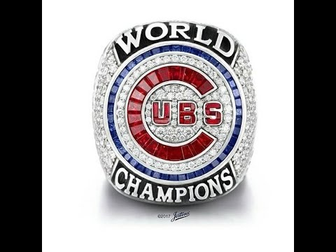 CHICAGO CUBS RING CEREMONY 4/12/17