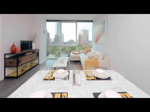 Tour A One-bedroom Model At The New 1000 South Clark Apartments