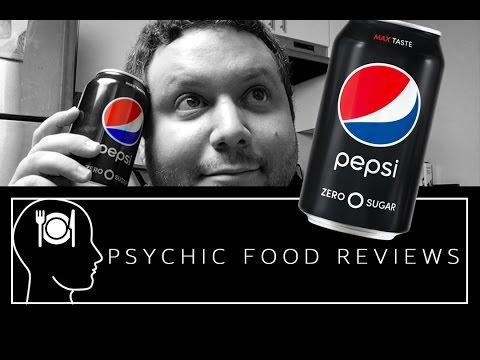 Pepsi Zero Sugar  - Psychic Food Reviews - PFR EP 1-1
