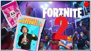 🔴 2nd CONCERT OF MARSHMELLO FORTNITE BATTLE ROYALE! SECRET LIVE!