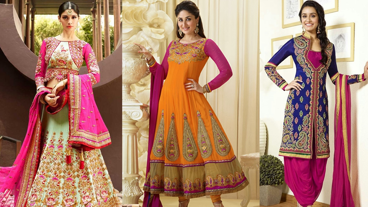 How to lengha wear dupatta exclusive photo