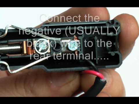 hqdefault how to wire a car cigaretter lighter plug youtube 12v accessory plug wiring diagram at reclaimingppi.co