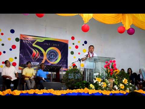 Mayor John Bongat of Naga City, 50th Foundation Anniversary