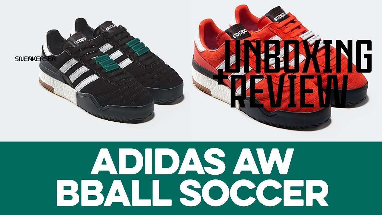 timeless design 7e3ce 7a92d UNBOXING+REVIEW - adidas AW BBALL Soccer. Sneakers BR