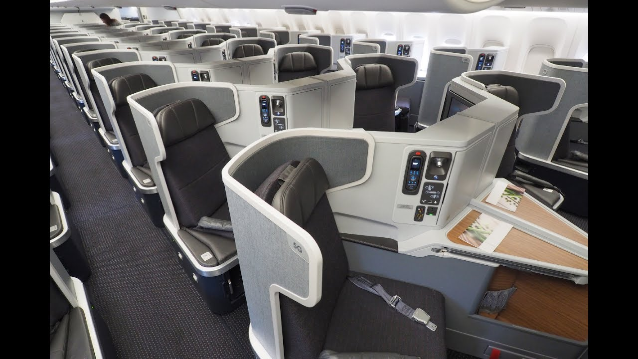 American Airlines 777 300er Business Class Lax Hkg Flight