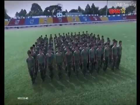 tập võ thể dục buổi sáng-kênh bộ đội quốc phòng