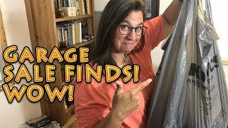 Garage Sale BEST FINDS Aug 2018