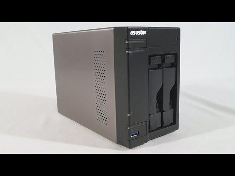 #1550 - Asustor AS-302T Multimedia NAS Server Video Review