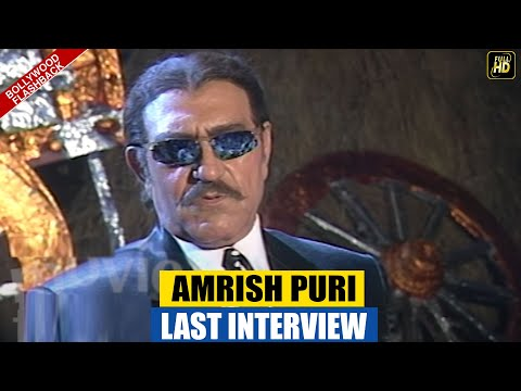 Amrish Puri Last Interview | Mogambo Khush Hua | FLASHBACK Video |