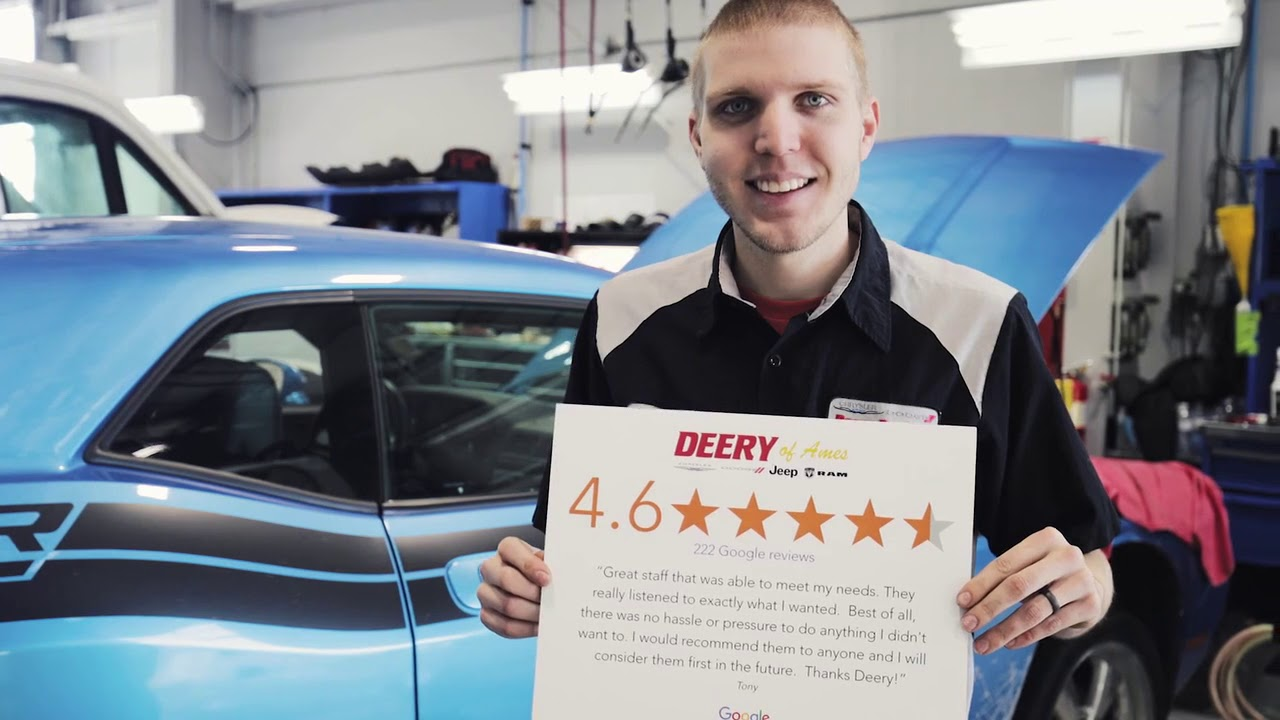 Ames Car Dealers >> About Deery Ames Cars For Sale Ames New Chrysler Dodge Jeep Ram