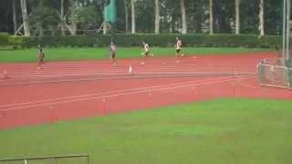 聖言中學田徑隊 聖若瑟英文中學友校4X100M接力賽(冠軍)