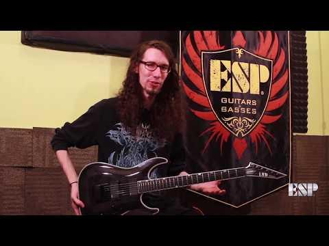 ESP Guitars: MH-1000 EverTune Demo by Jack Fliegler