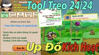 Ngọc Rồng Online - Dùng Tool Treo 2 Ngày Up Sét Kích Hoạt Và Thành Quả