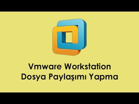 Vmware Workstation Dosya Paylaşımı Yapma