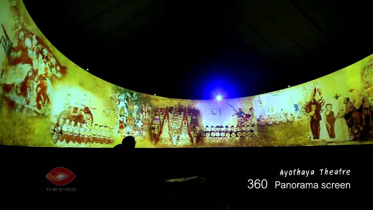 Make 3d Live Wallpaper Ayothaya Virtual Theater 360 Panorama Screen Youtube