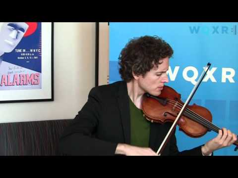 WQXR Café Concert: Tim Fain Plays Philip Glass - Partita for Solo Violin (Chaconne)
