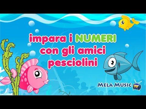 Scopri e impara i numeri con gli amici pesciolini - Canzoni per bambini di Mela Music