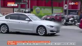 Los autos robados en México se venden en todo el mundo