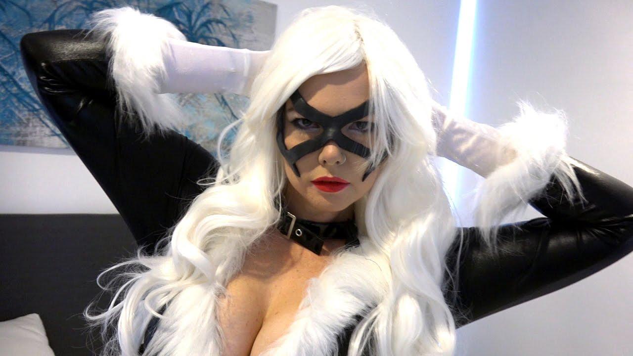 Black Cat Cosplay By Mandacarp Highlight - Youtube-8173