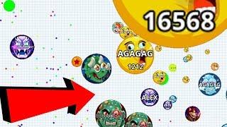 Agar.io Solo vs Team Survival Mode Epic Wins/Fails Best Moments Agario Mobile Gameplay