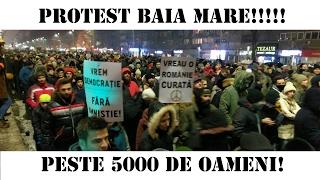 Protest 1 Februarie 2017 Baia Mare!