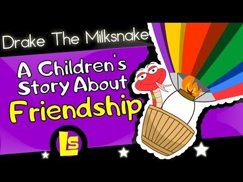 Drake The Milksnake   Children's Short Story Read Aloud   Original Children's Story