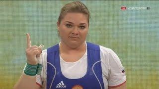 2017 European Weightlifting Championships Women +90 kg \ Тяжелая атлетика Чемпионат Европы [1080]
