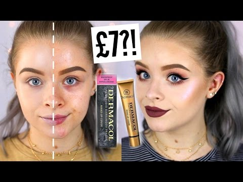TESTING £7 FULL COVERAGE FOUNDATION!? + 9 HOURS LATER | sophdoesnails
