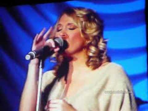 Carrie Underwood singing Whenever You Remember Me in Concert
