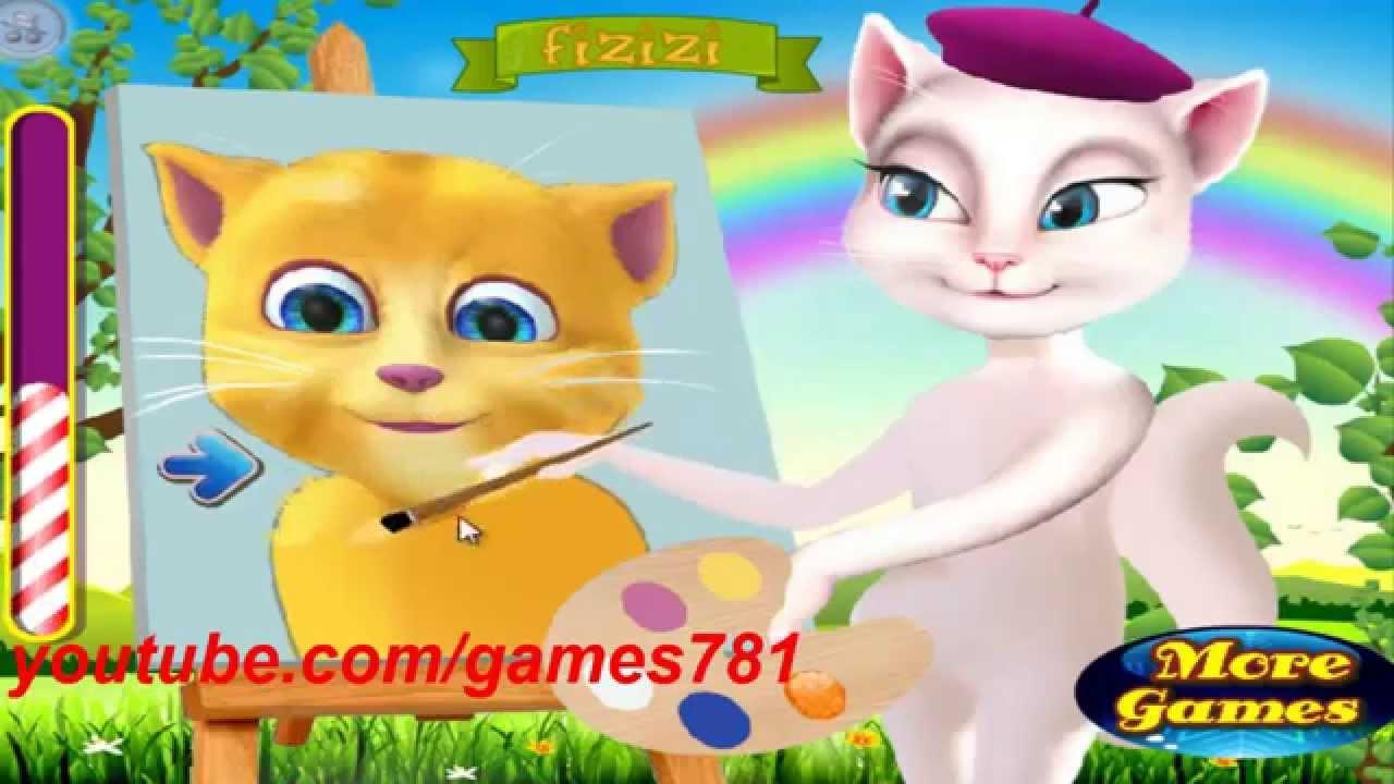 لعبة القط المتكلم لهاتف