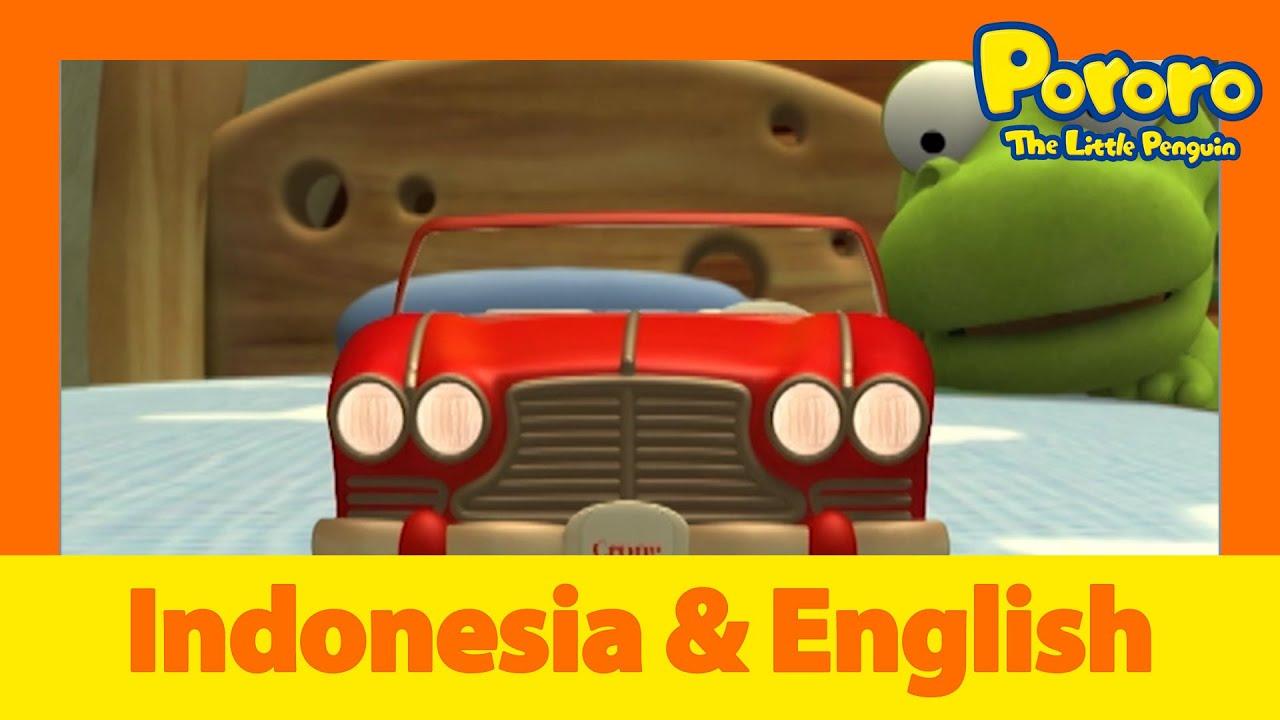 Belajar Bahasa Inggris l Kue kering yang menakutkan l Animasi Indonesia | Pororo Si Penguin Kecil